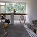 bovenverdieping met werktafel